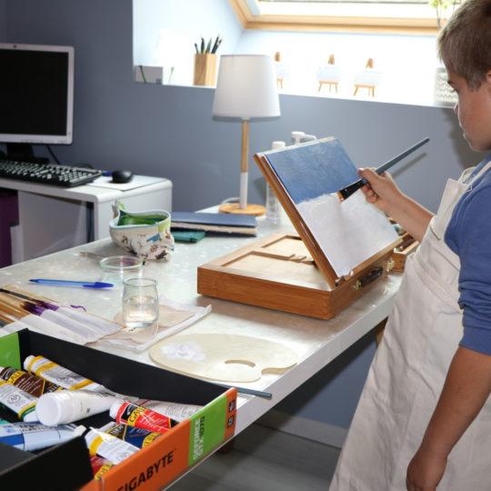 art-thérapie au Mans pour enfant